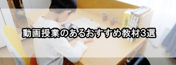 小学生 通信教育 動画