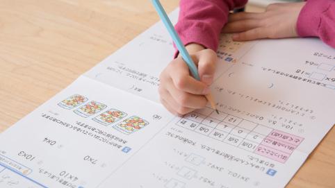 小学生の通信教育ポピーのテスト