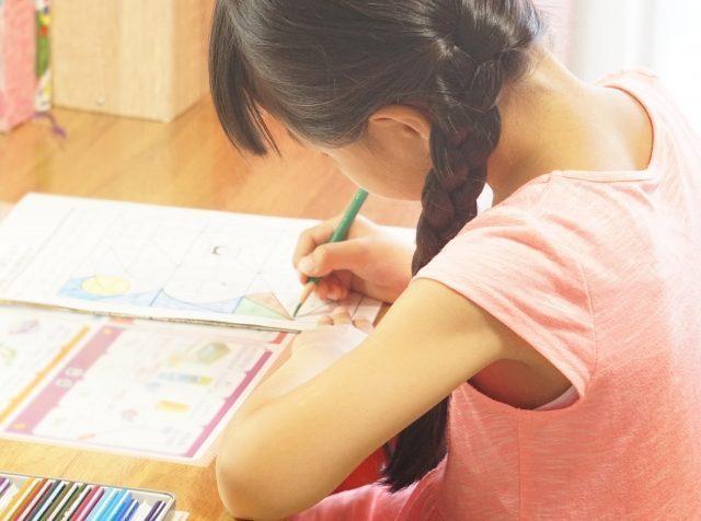 小学生の通信教育「紙教材」のメリット