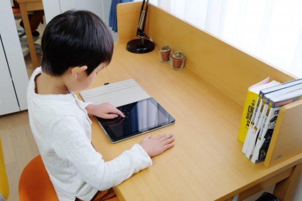 コロナ自粛で学習塾へ通えない時におすすめ「自宅端末」を使う通信教育