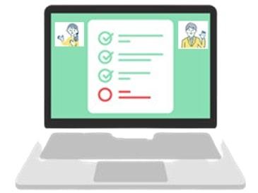 「最新式」情報共有に学習ソフトが使われるスタイル